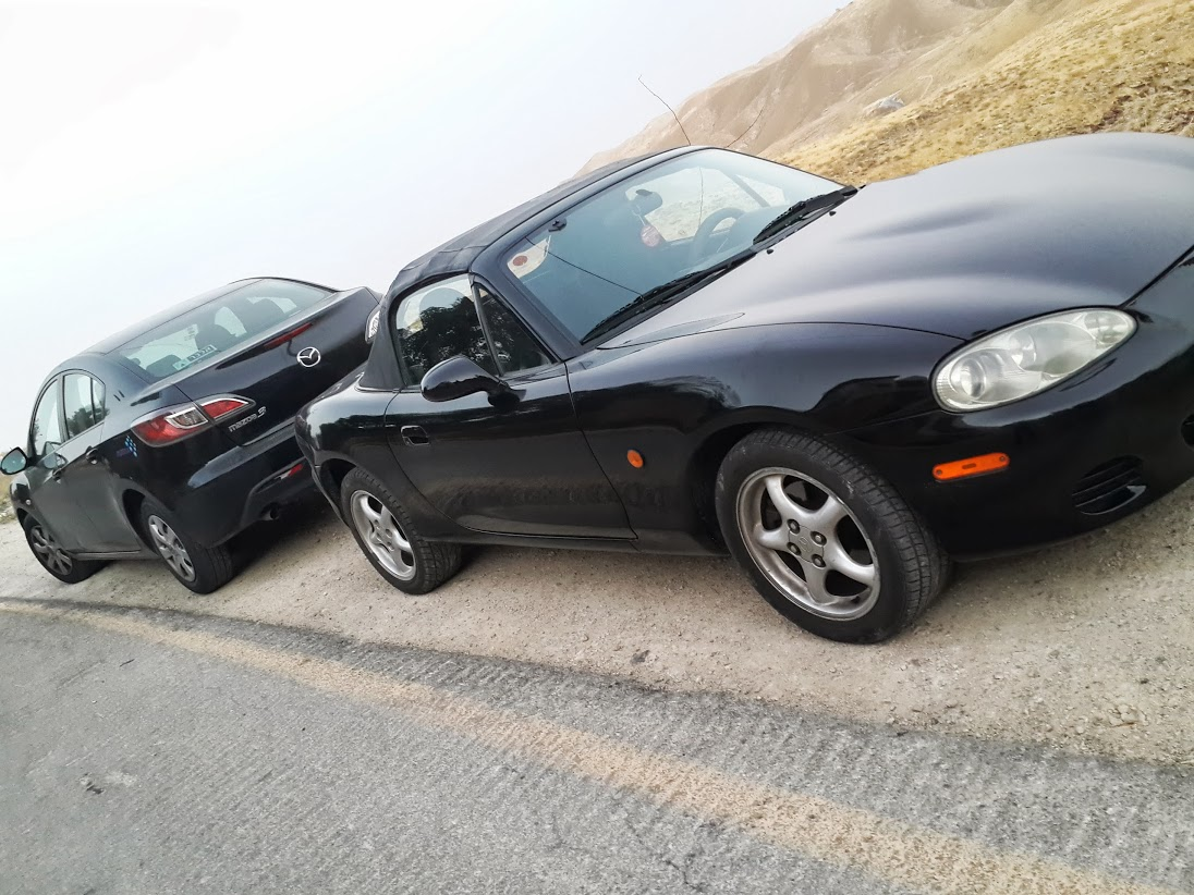M3 ומאזדה MX5